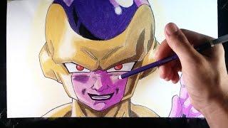 Cómo dibujar a Golden Freezer explicado paso a paso | How to draw Gold freezer Fukkatsu no F