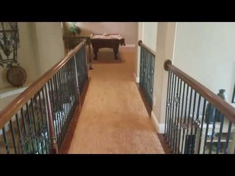 Cleaning carpet in Lakeway Texas.  Carpet clean.