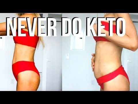 I Went Keto For A Month THIS IS WHAT NO ONE TELLS YOU   What I Did & Results   Keltie O'Connor