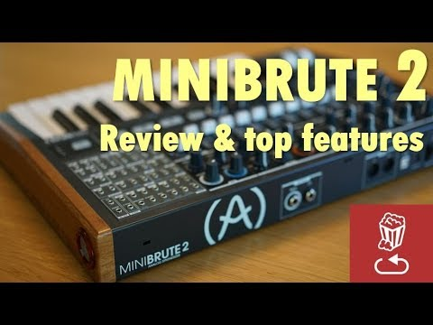 MiniBrute 2 Review, and the 48 point patch bay (!) explained