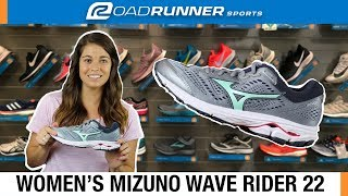 Women's Mizuno Wave Rider 22 | Fit Expert Shoe Review