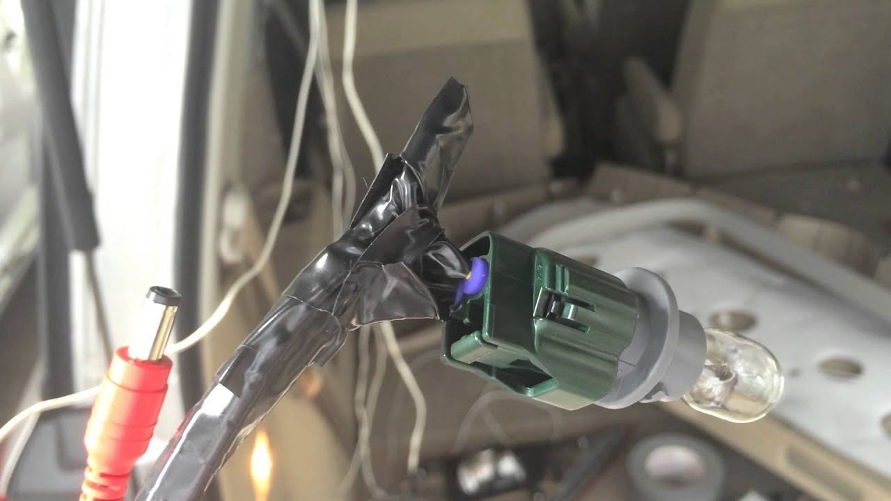 2012 nissan quest backup camera installation part 1