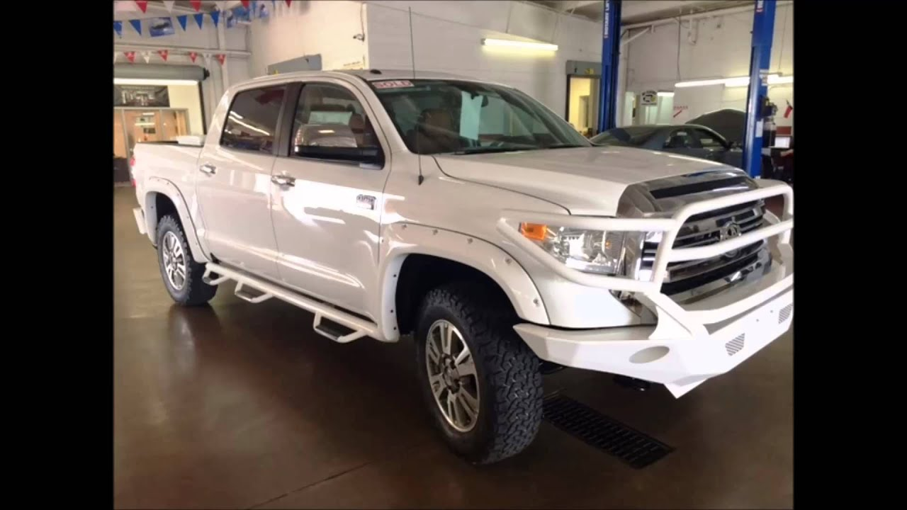 Toyota tundra custom made repalcement bumpers