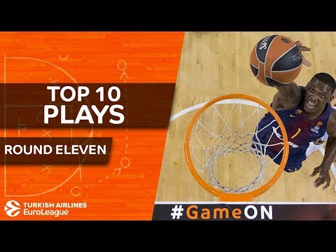 Top 10 Plays  - Turkish Airlines EuroLeague Regular Season Round 11