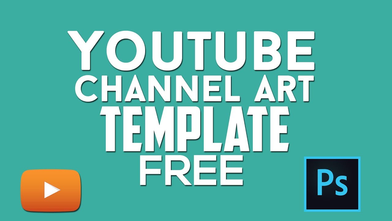 Youtube Cover Template Photoshop Easy To Use Free By Kampro Kampro