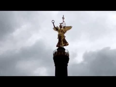 THE VICTORY COLUMN IN THE TIERGARTEN, BERLIN BY Ishmael Von Heidrick-Barnes