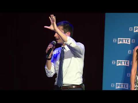 Pete Buttigieg makes campaign stop in Orlando