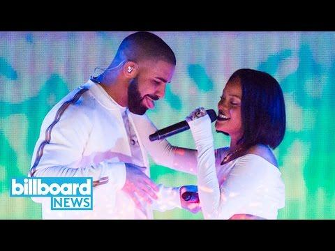 Drake Plays Rihanna Medley in Honor of Her Birthday | Billboard News