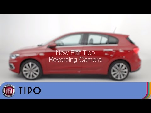 Fiat Tipo - How the Reversing Camera Works | Fiat UK