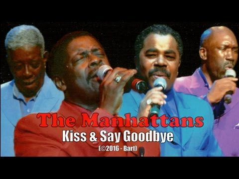 Manhattans - Kiss & Say Goodbye (Karaoke)