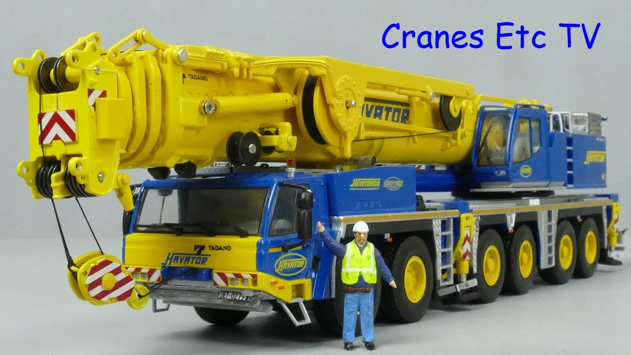 WSI Tadano ATF 400G-6 Mobile Crane 'Havator' by Cranes Etc TV