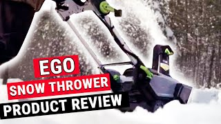 EGO Single Stage Snow Blower Review - Ace Hardware