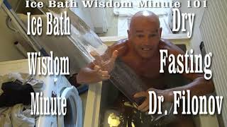 Dry Fasting Health Secrets Exposed  Ice Bath Wisdom Minute 101
