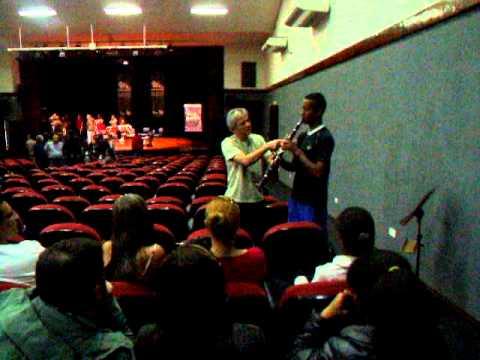 Osesp Itinerante 2011 - Mogi das Cruzes - Oficina de Sopros