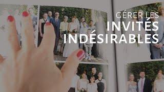Gérer les invités indésirables à ton mariage [Dentelle TV #10]