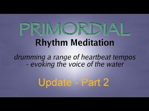 Primordial Rhythm Meditation - Update Part 2