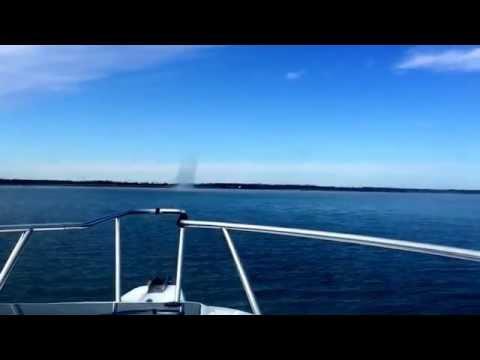 Waterspout on Coffey County Lake