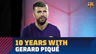[EXCLUSIVE] GERARD PIQUÉ: 'I never expected to win what I have won'