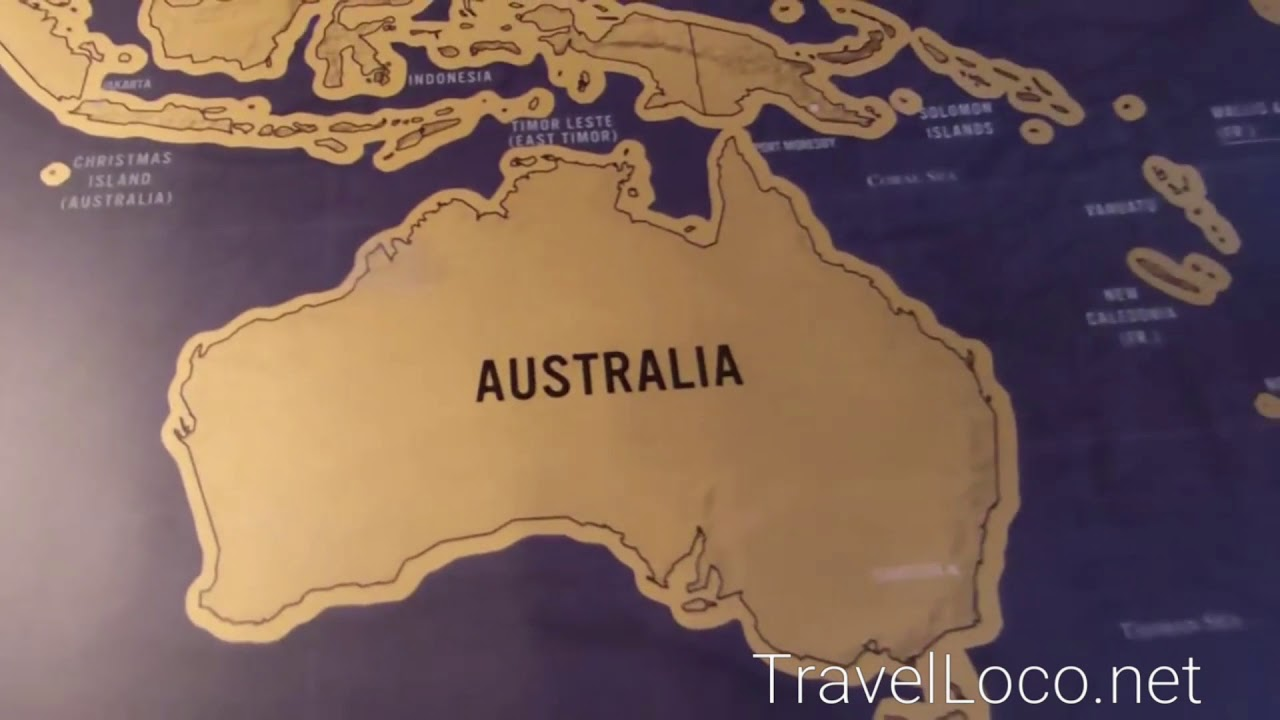 Deluxe travel world scratch map mark your travel goals youtube deluxe travel world scratch map mark your travel goals gumiabroncs Images