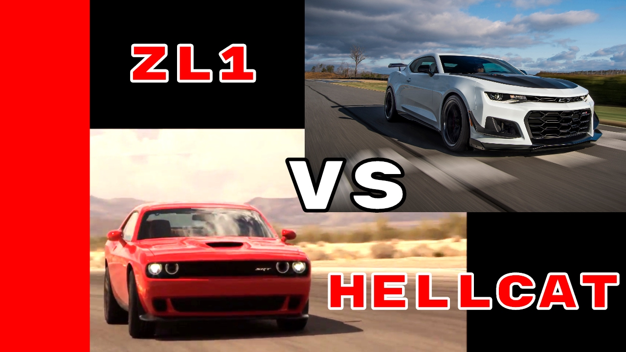 650HP Camaro ZL1 1LE vs 707HP Dodge Challenger Hellcat Engine