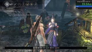 Nioh PC - All Main Missions Crash Speedrun in 1:08:32 RTA no Load (Patch 1.21.04)