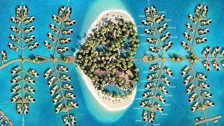 """""""القلب"""" إحدى جُزر العالم في دبي"""