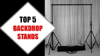 Top 5 Best Backdrop Stands 2018 | Best Backdrop Stand Review By Jumpy Express