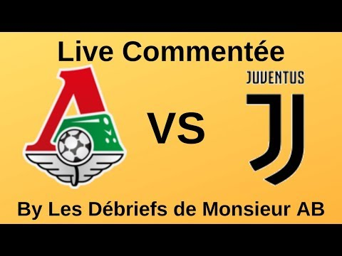 🔴🎙️ [ EN DIRECT ] LOKOMOTIV MOSCOW VS JUVENTUS  // (Ligue des Champions) // MrABDirect