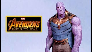 AVENGERS: INFINITY WAR Kalyn VFX Render - Thanos (2018) Marvel