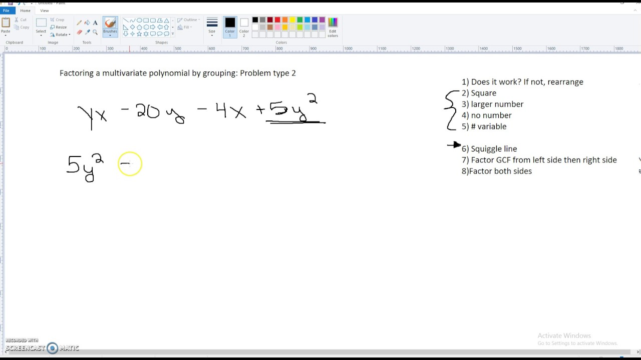 worksheet Factor Polynomials By Grouping Duliziyou Worksheets – Factoring Polynomials by Grouping Worksheet