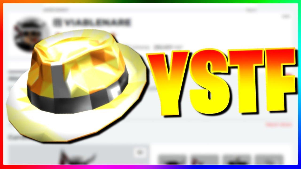 Black Sparkle Time Fedora Roblox We Got Sparkle Time Fedora On Roblox 470k Value Youtube