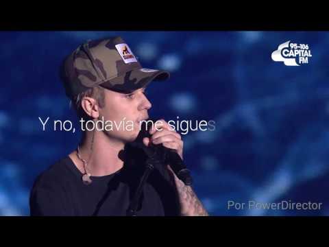 "Justin Bieber — ""Love Yourself"" (Live) [Traducida al Español]"