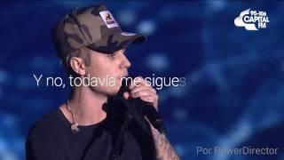 "justin bieber — ""love yourself"" live traducida al español"