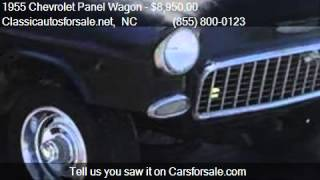 1955 Chevrolet Panel Wagon  - for sale in , NC 27603 #VNclassics