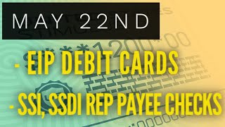 Stimulus Update May 22nd: Rep Payee Deposits, EIP Debit Cards