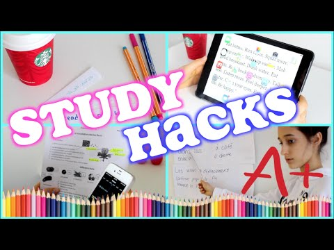 Study Hacks! Get Better Grades 2015