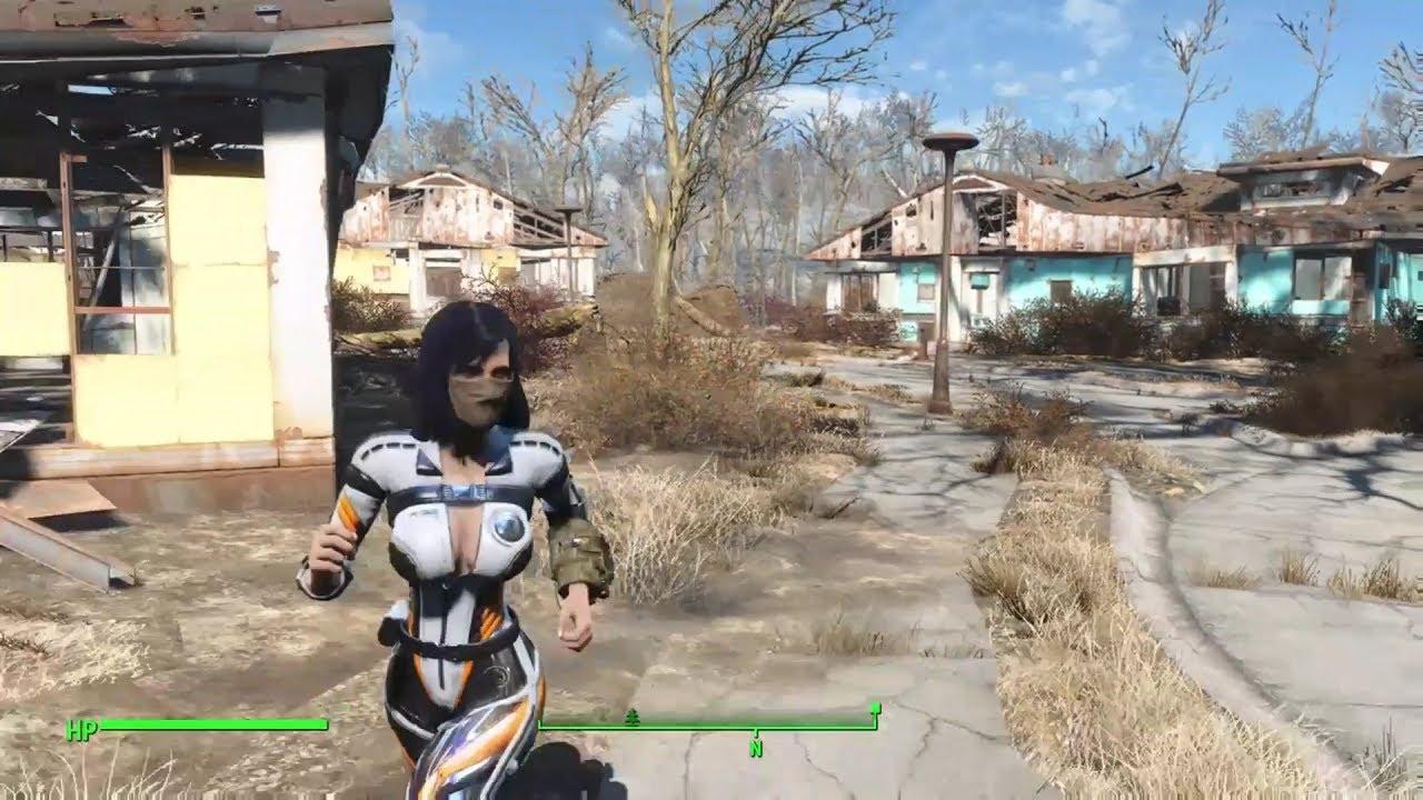 Fallout 4: Slooty Vaultsuit+Slooty Courser uniform mod Hidden in WIP (DOWN)