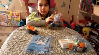 набір плеймобиль дитячі меблі,розпакування та огляд іграшок.