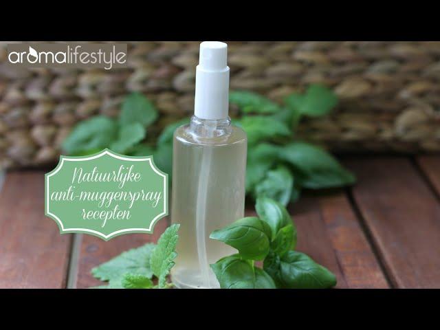 Anti muggenspray, twee natuurlijke recepten