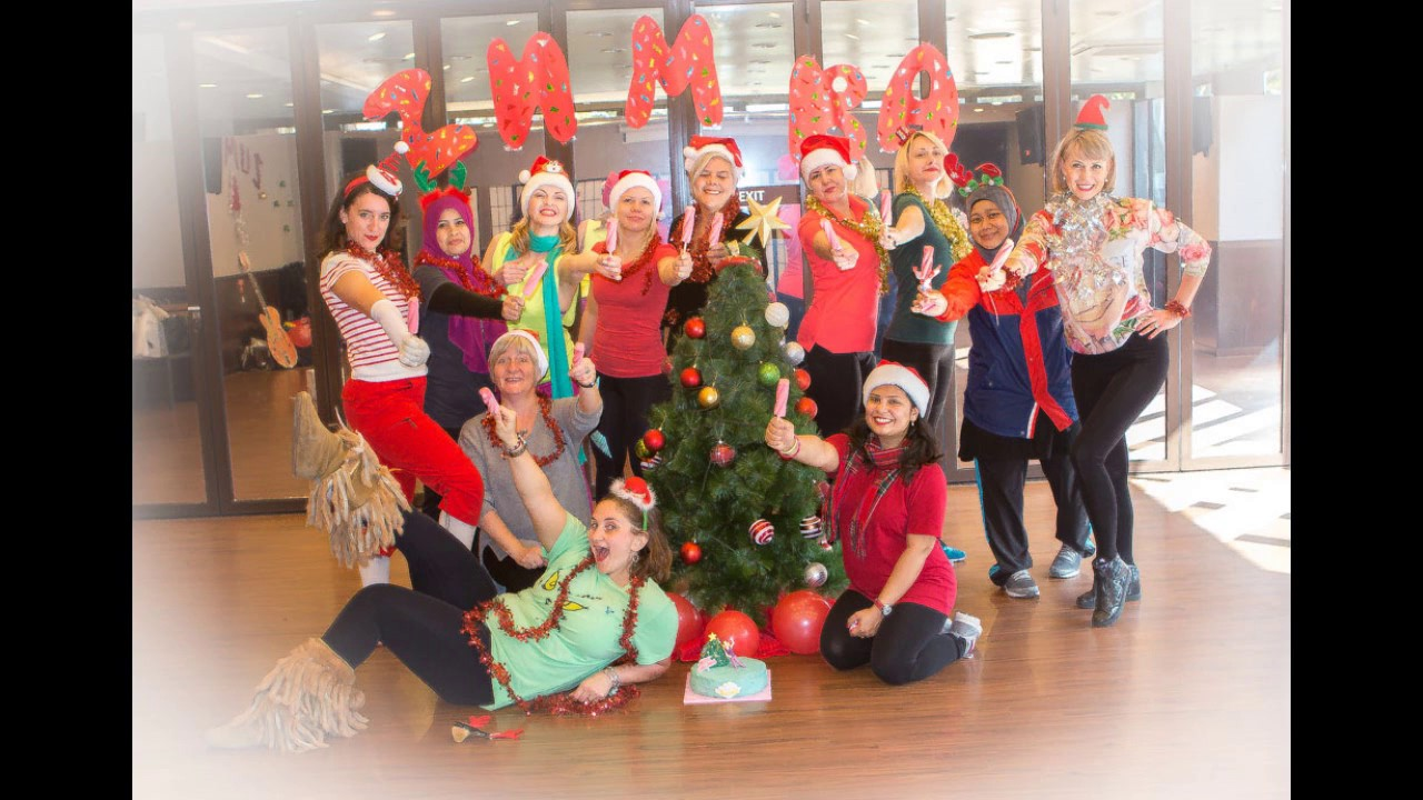 Zumba Christmas Party Images.Zumba Christmas Party 2017