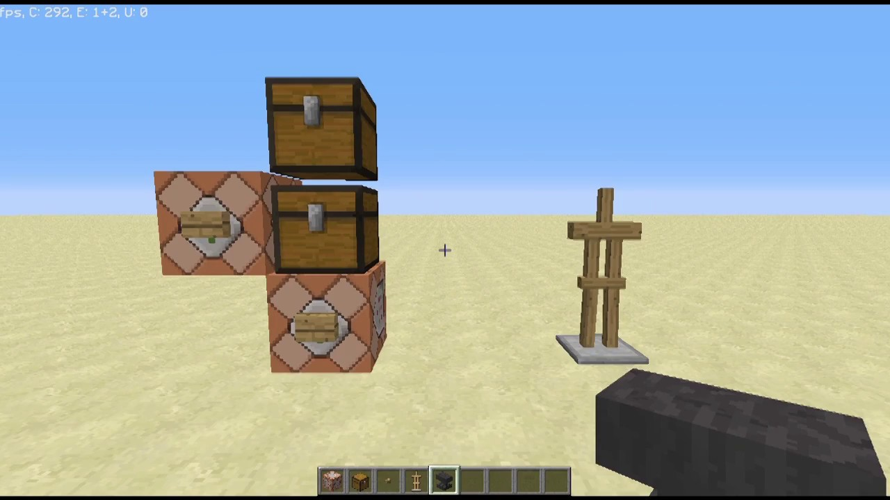 How to Refill Chests With Command Blocks