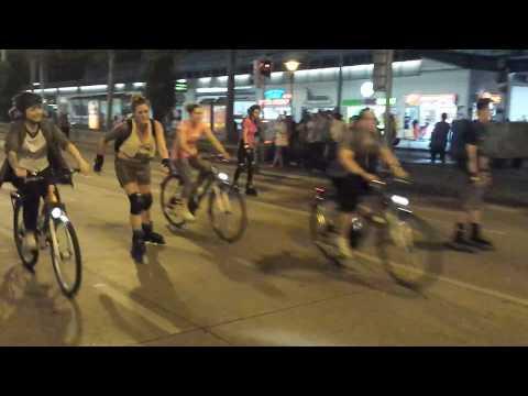 VIENNA, AUSTRIA...bike...skate...run...AUGUST 01, 2014