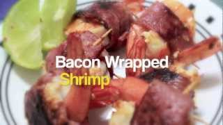 Yummies: Bacon Wrapped Shrimp - Grace