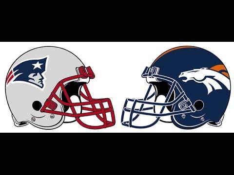 2014 NFL Playoffs New England Patriots vs Denver Broncos