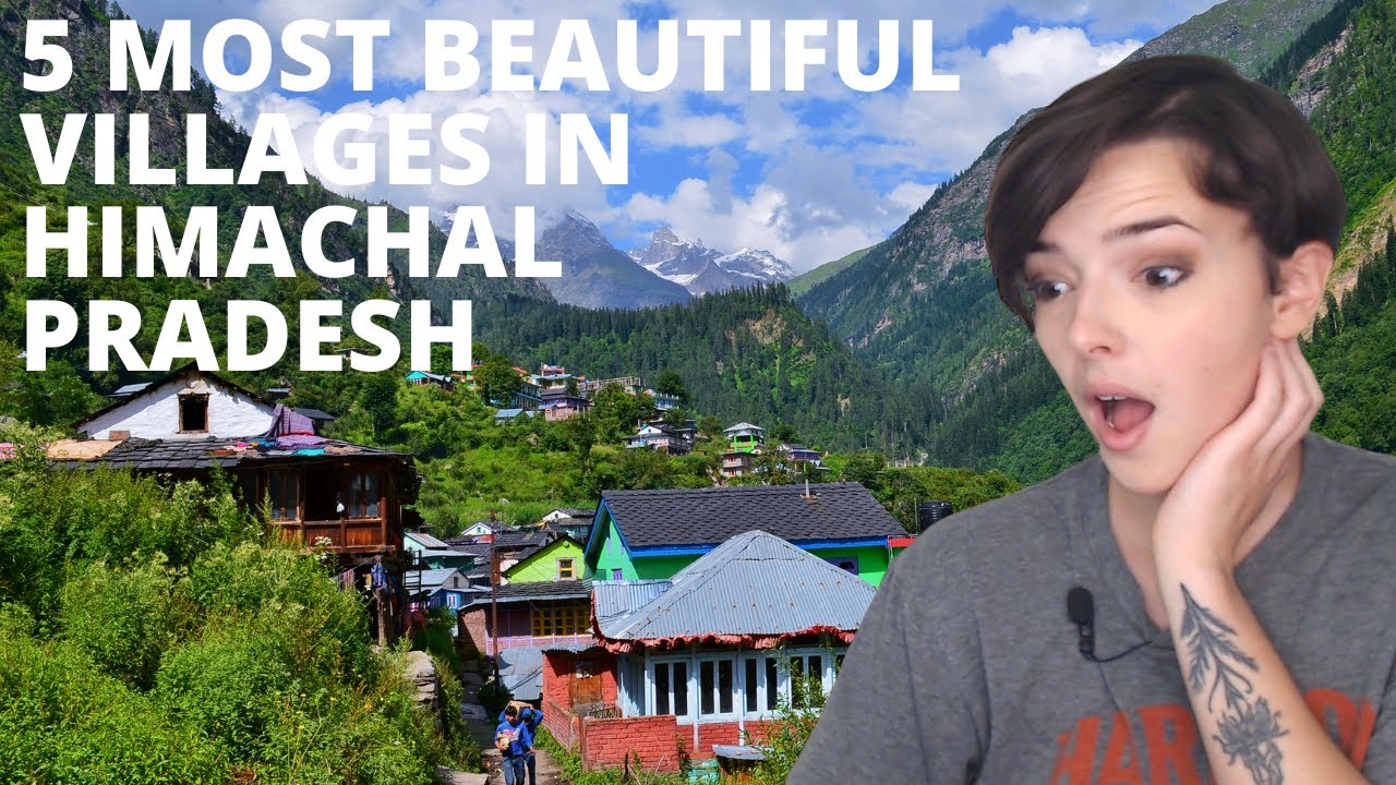5 Most Beautiful Villages To Visit In Himachal Pradesh   REACTION!!