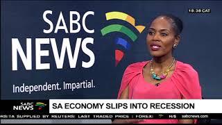 SA hit by 1st recession since 2009: Thabi Leoka