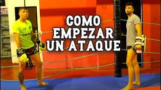 Como ATACAR a tu oponente en una PELEA / Kick Boxing - Thai
