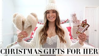 CHRISTMAS GIFTS FOR HER & STOCKING STUFFERS! + GIVEAWAY! 2019 | RACHEL PUCCETTI