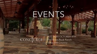 Look Video // Riven Rock Ranch - Events // Texas Hill Country Estate
