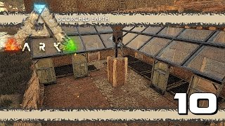 ARK: Scorched Earth E10 - WATER, CROP PLOTS AND CRYSTAL!!